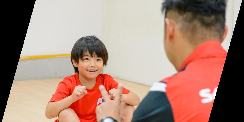 スポーツを通して子どもの成長を支える